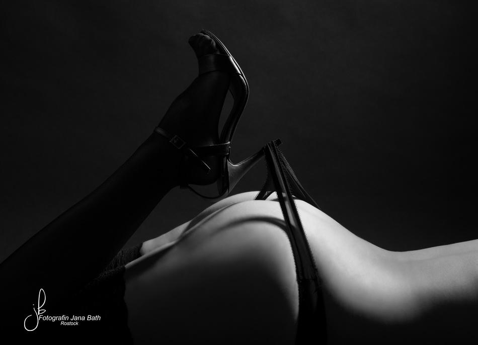 Bodypart mit High Heel