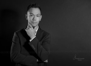 Business Portrait männlich s/w - Fotostudio Rostock Jana Bath