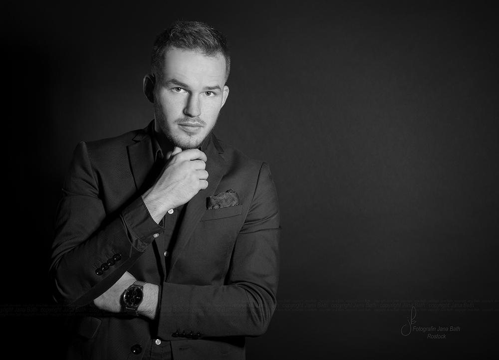 Business Portrait männlich - Foto Jana Bath