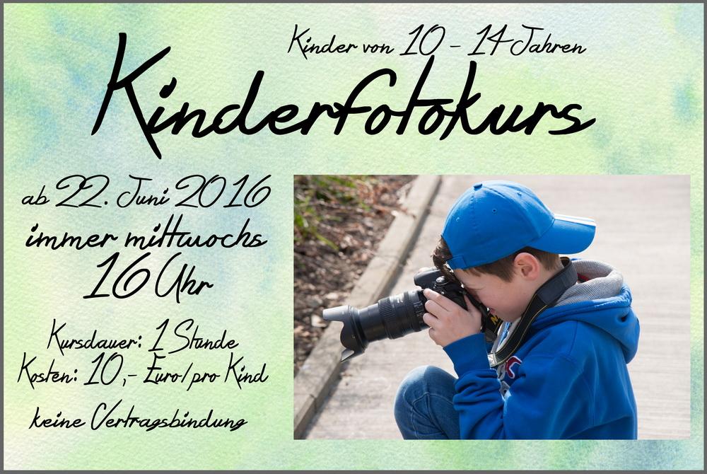 Fotokurs für Kids