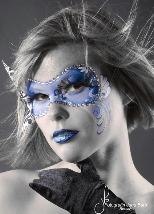 Maske 3 - Fotografin Jana Bath