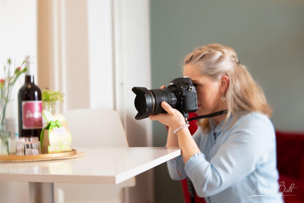 Home Stager Dani Mende bei der Fotoschulung mit Jana Bath 2020