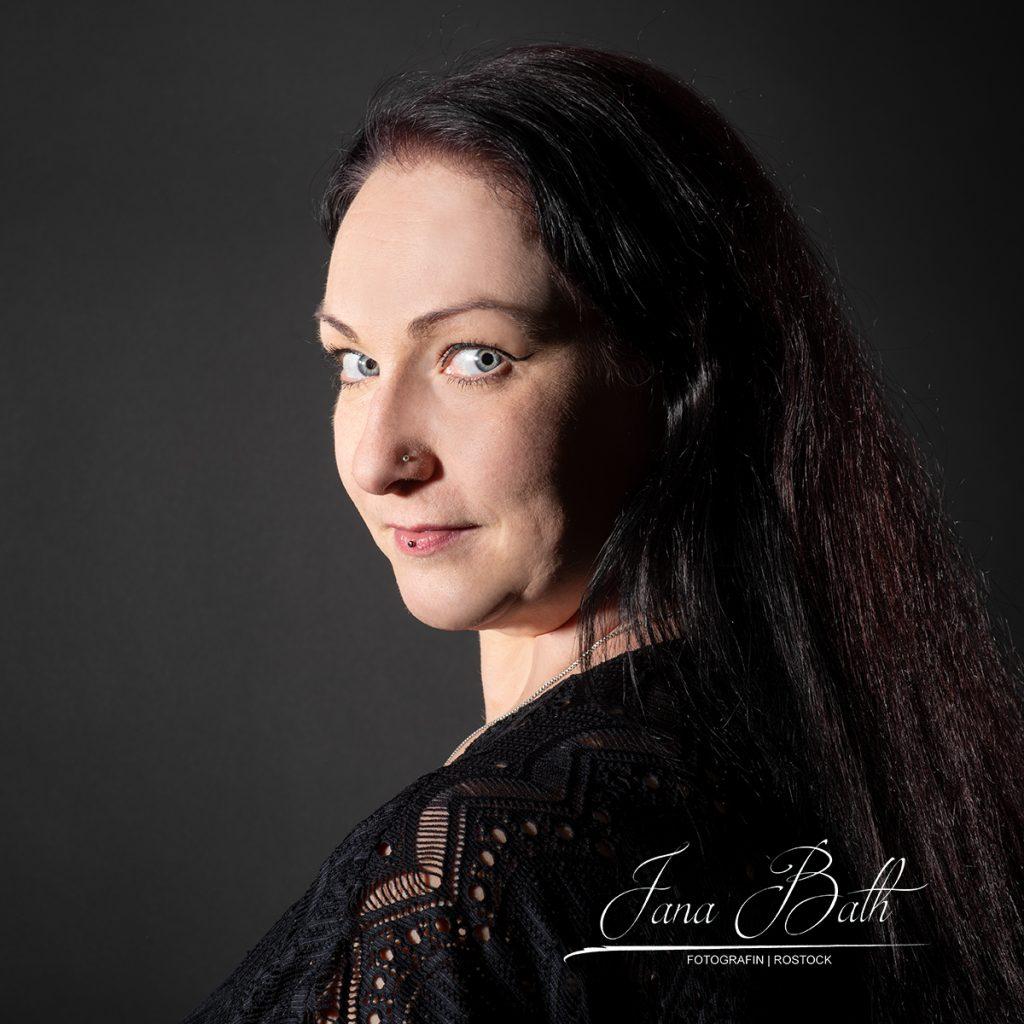 Flirten, Onlinedating, Porträt, Jana Bath 2021